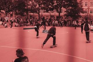 Yaqine Hamzaoui skaters