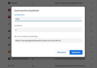 Screenshot Chrome