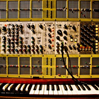 ARP 2500, appartenant à Jean-Michel Jarre.  Photo : Éric Cornic @ EDDA-JMJ