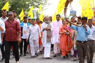 india elections cow politics