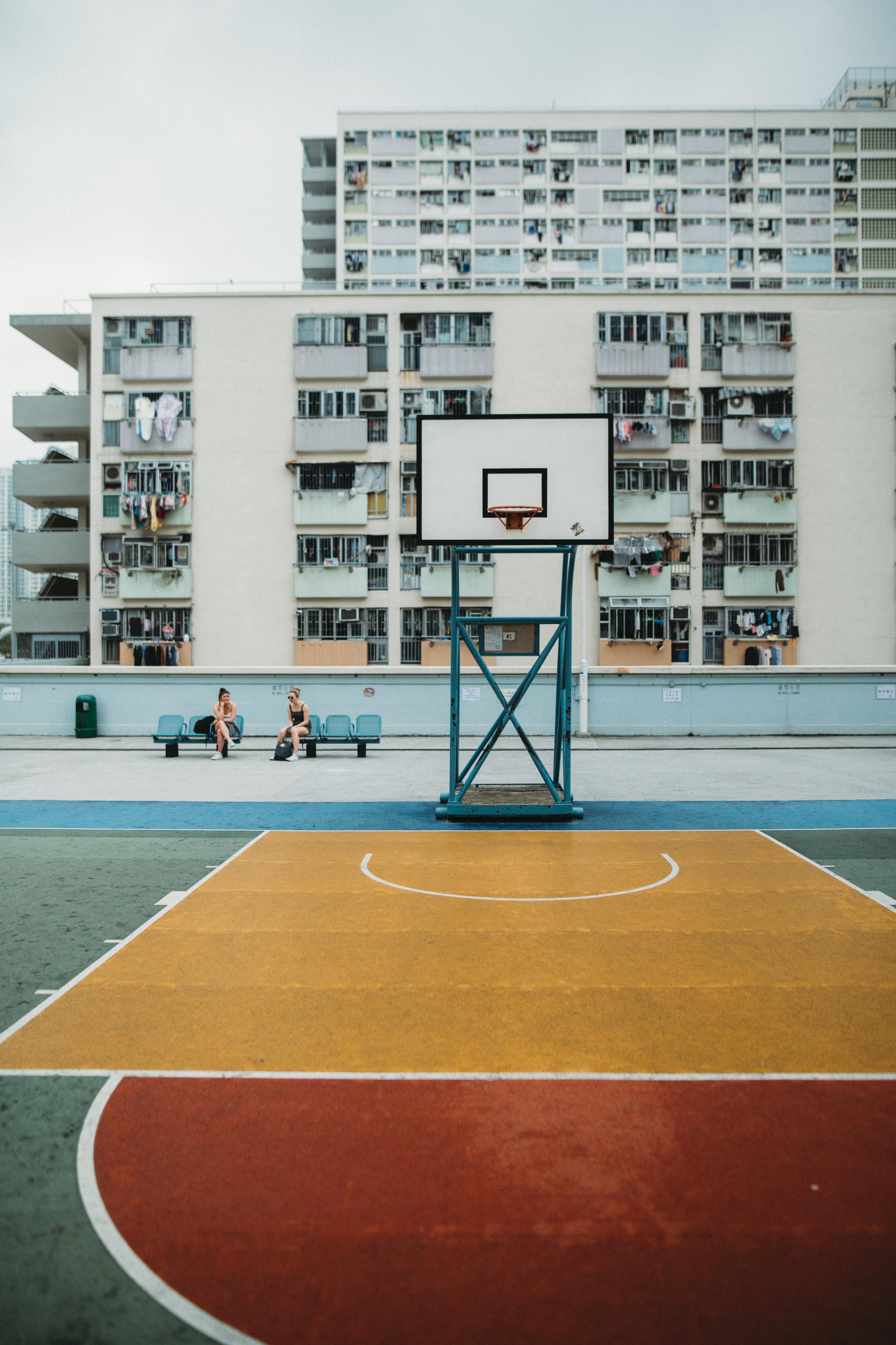Hong Kong Basketball Courts Justin Lim