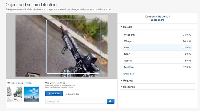 Machine Learning Identifies Weapons in the Christchurch