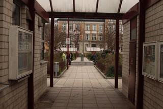 Postplatz in Aue im Erzgebirge
