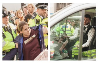 extinction rebellion arrests