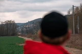 David blickt auf Rudolstadt