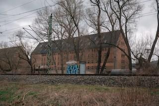 Irgendeine alte Halle vor Rudolstadt