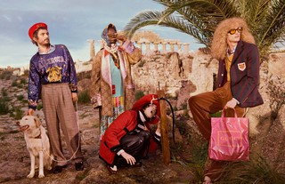 Gucci Pre-Fall 19 Campaign Shot By Glen Luchford