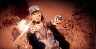 Mortal Kombat 11 Sonya Blade guns