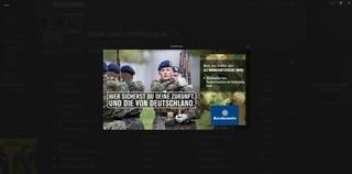 Bundeswehr Werbung