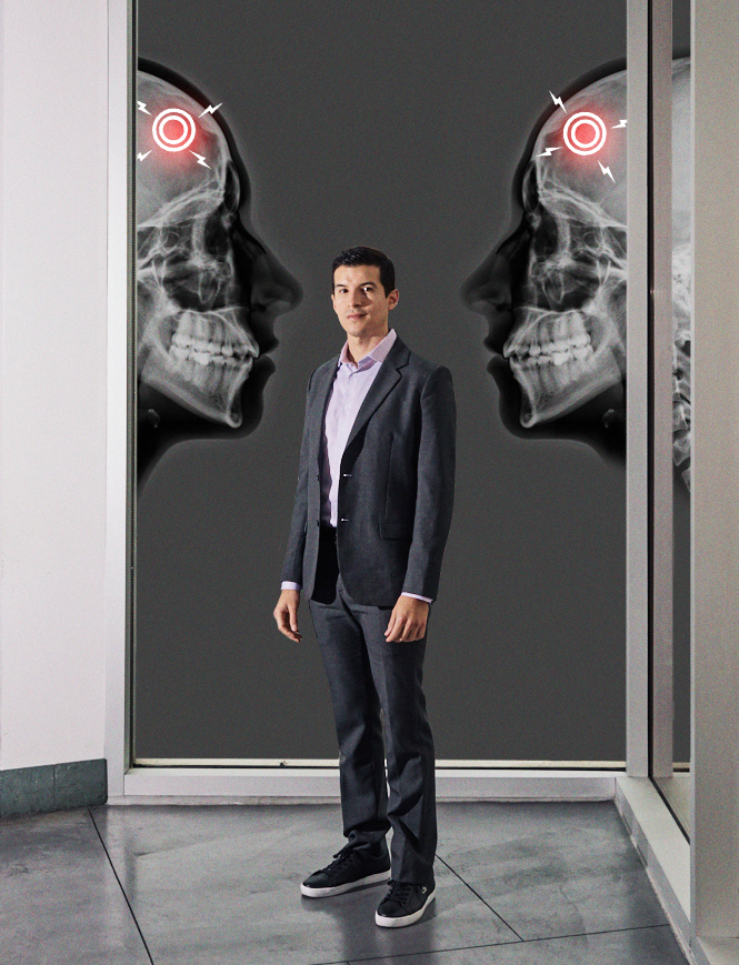 Joel Salinas, doctor with mirror touch