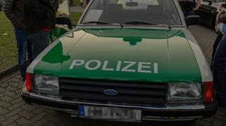 Ford Granada der Polizei