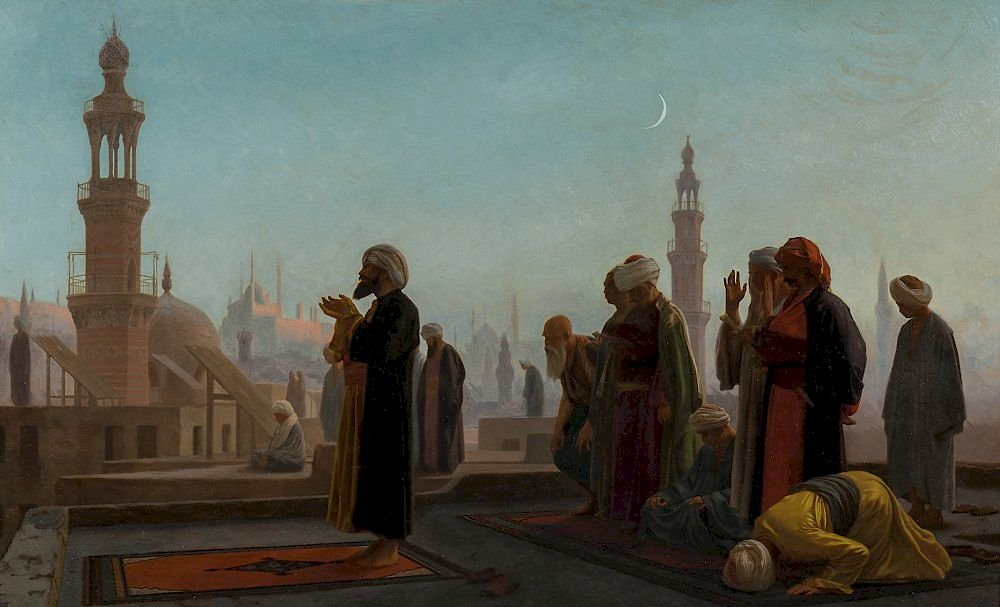 Evening_Prayer_by_Jean-Leon_Gerome_