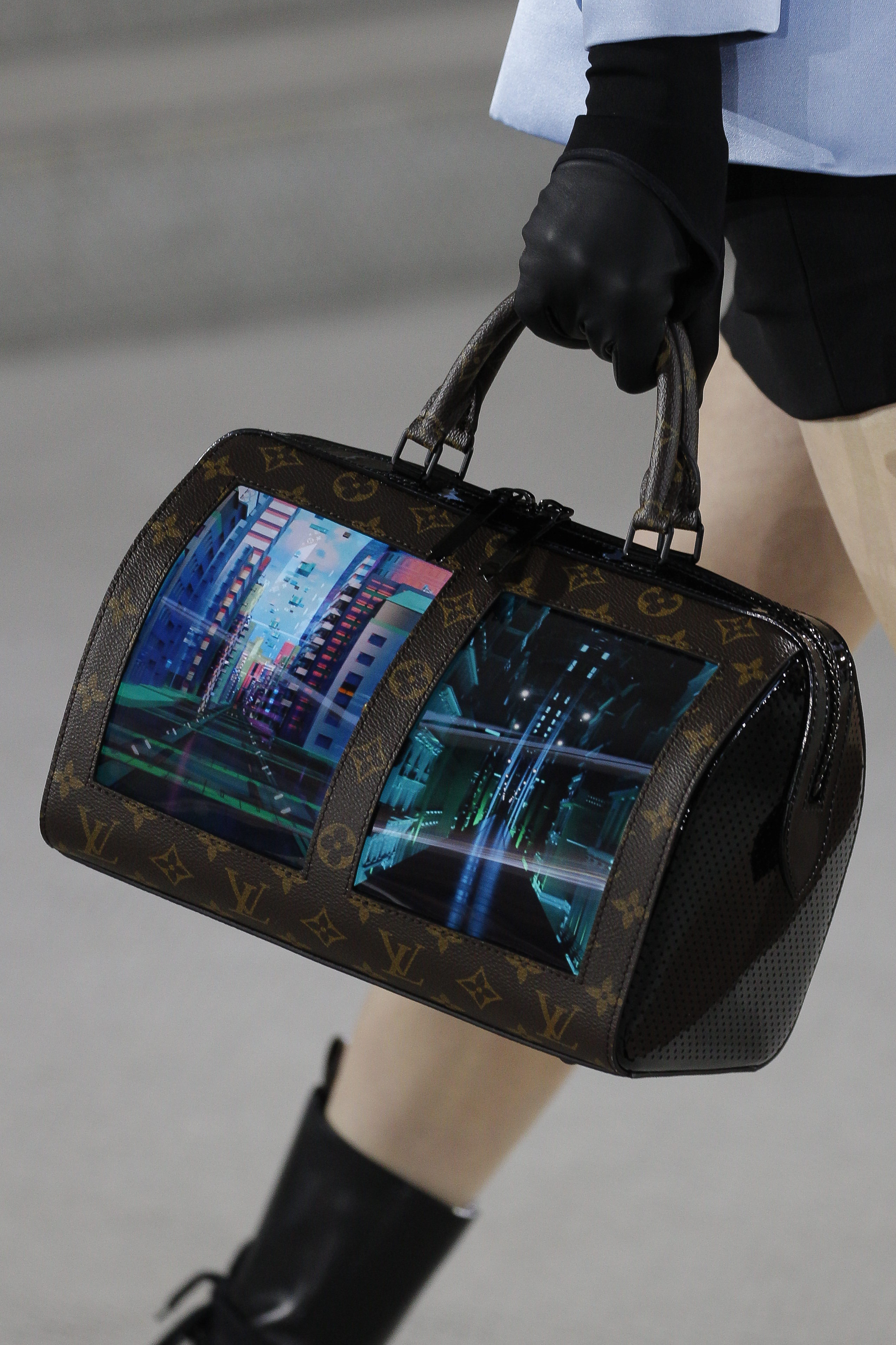 82c3096155214 Nicolas Ghesquière Goes Back to the Future for Louis Vuitton Cruise ...