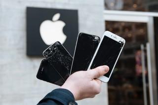Beschädigte iPhones