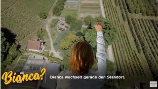 Bianca wechselt den Standort fliegt über den Thurgau