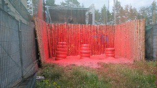 Schießstand Paintball