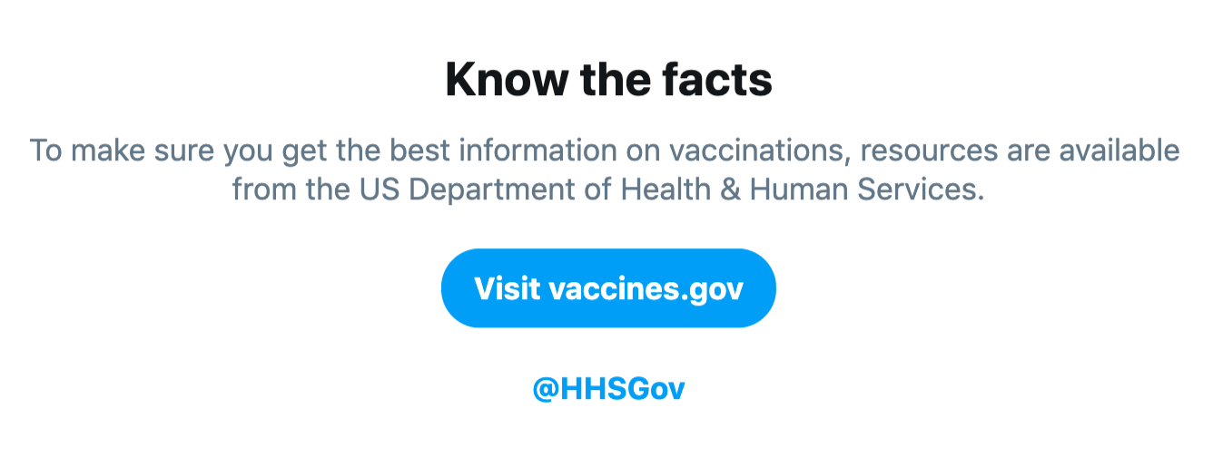 Before I Stopped Believing Vaccines >> Twitter S New Vaccine Feature Won T Stop Anti Vaxxers Vice