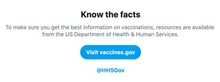 Twitter's New Vaccine Feature Won't Stop Anti-Vaxxers