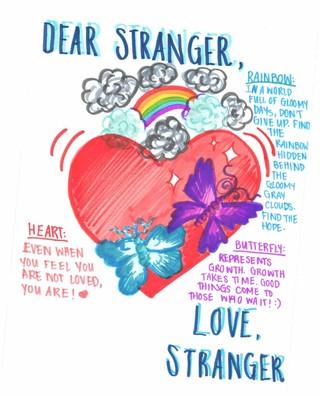 Letters to Stranger example letter