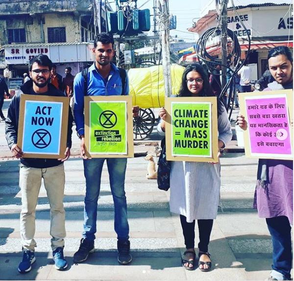 climate change india extinction rebellion