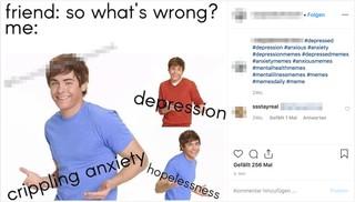 Instagram Depression Memes