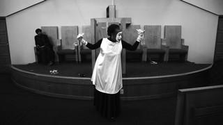 Steffani Jemison, Sensus Plenior, 2017. High-definition video, black-and-white, sound; 34:36 min. Image courtesy the artist