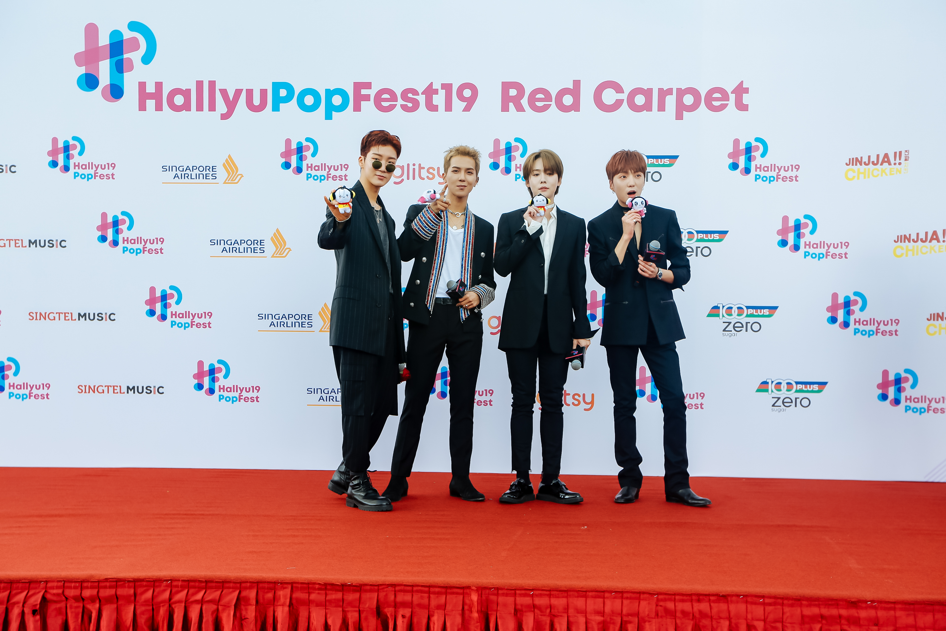 Photos From The Red Carpet Of Southeast Asia S Biggest K Pop