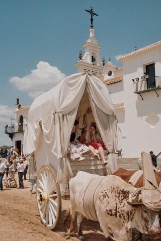 El Rocío Andalucía Huelva Almonte España