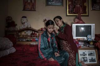 indian nepal subcontinent kumaris living goddess