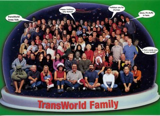 Transworld staff group shot