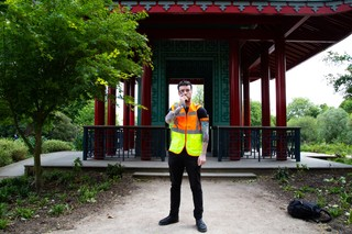 festival blag security guard