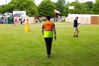 festival security blag