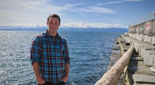 Kieran Cox Lead Author University of Victoria microplastic research marine biology