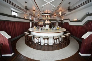 the bar at alameda in greenpoint, brooklyn