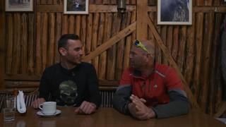 Ο Λάζαρος Μποτέλης είναι συν-διαχειριστής του υψηλότερου καταφυγίου του Ολύμπου