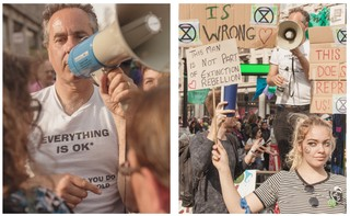 extinction rebellion counter protest