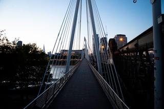 hungerford bridge sunrise