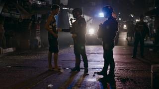 Philippine drug war police raids