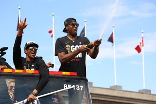The Best Things We Saw at the Toronto Raptors Parade