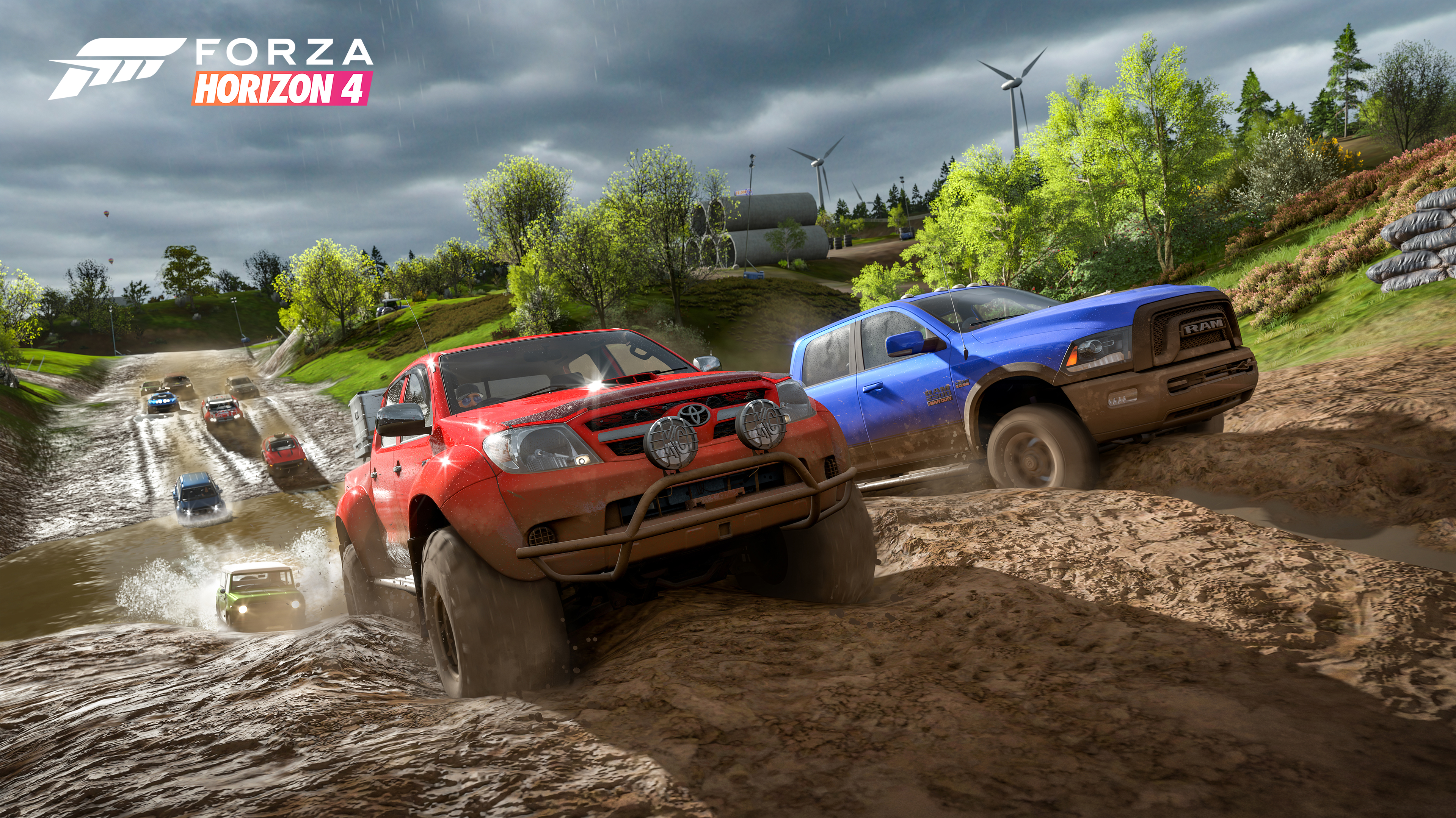 'Forza Horizon 4' screenshot courtesy of Microsoft