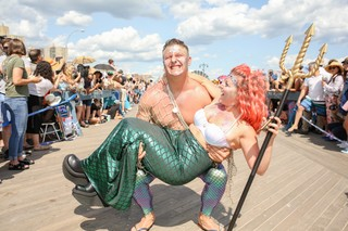 mermaid trident