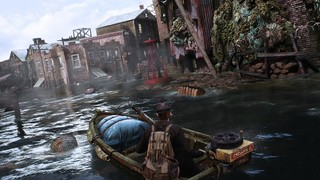 Sinking City Flooded Streets