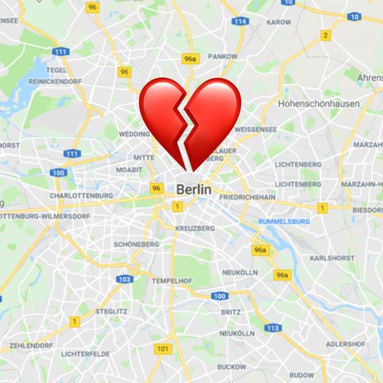 Berlin vacaciones con la expareja