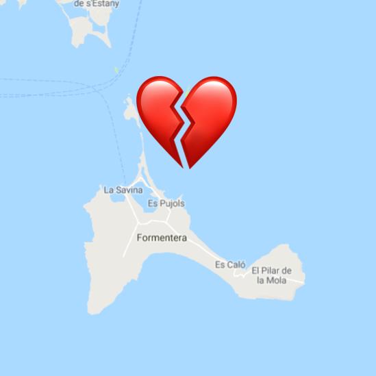 Formentera - vacaciones con al expareja