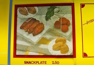 foto's van een snackplate