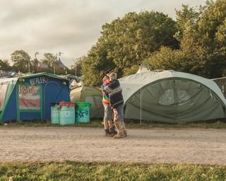 Glastonbury 2019 6am in the morning