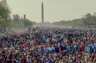 The 1992 March for Women's Lives in Washington D.C.