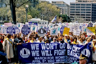 March for Women's Lives 1992