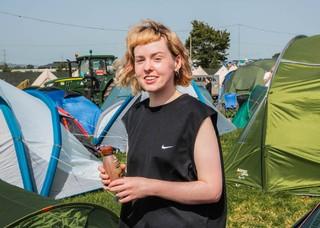 Glastonbury Hangover Cures vox pop milk thistle