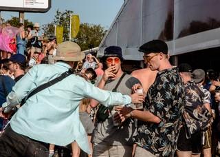 Crowd Shot Glastonbury Festival 2019